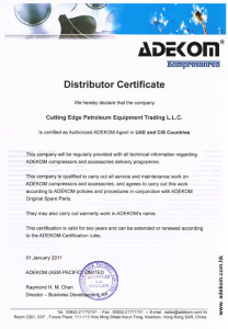 ADEKOM Authorization Letter